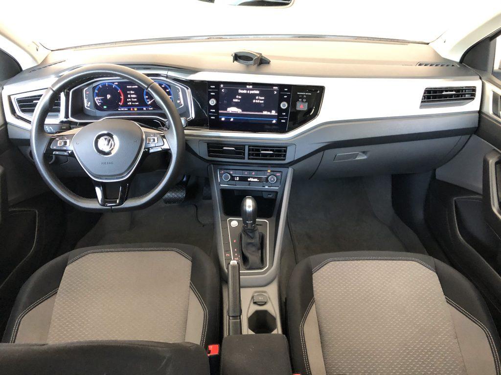 interior do virtus 200 TSI Volkswagen