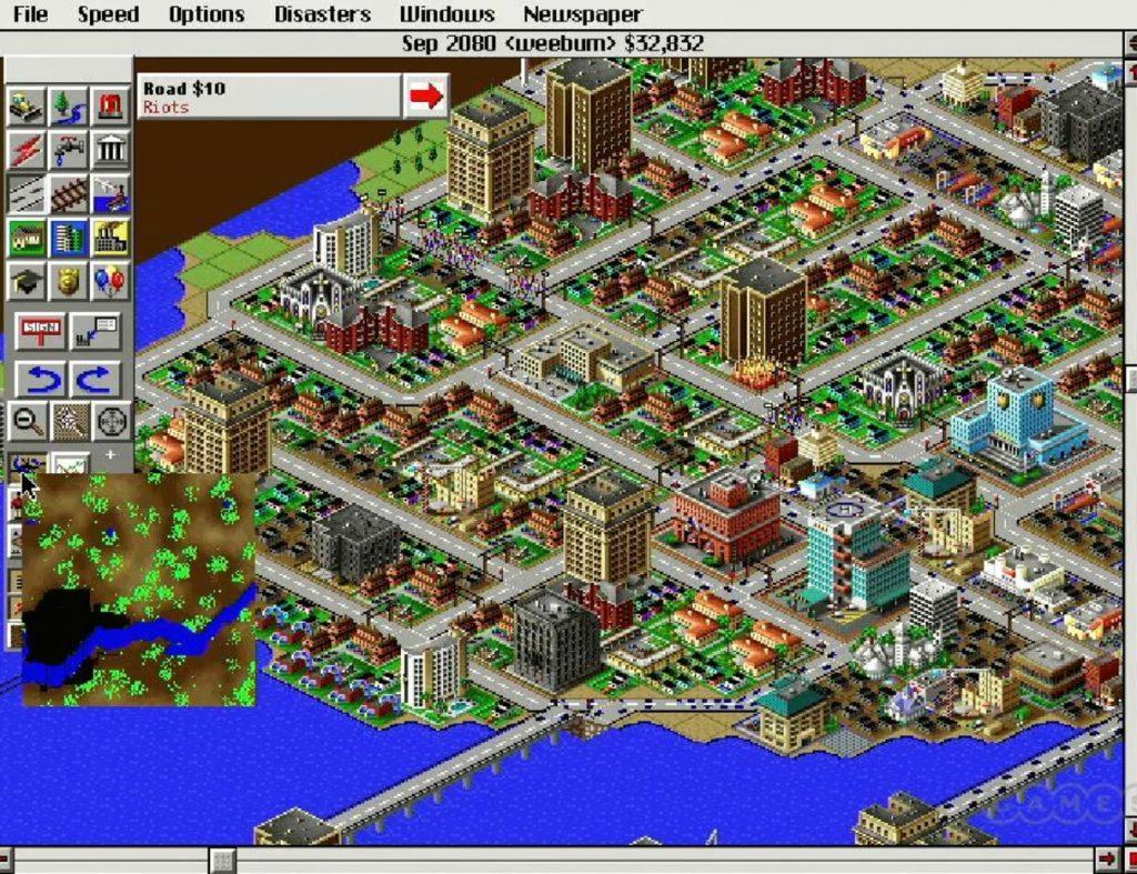 sim city jogos de simulador
