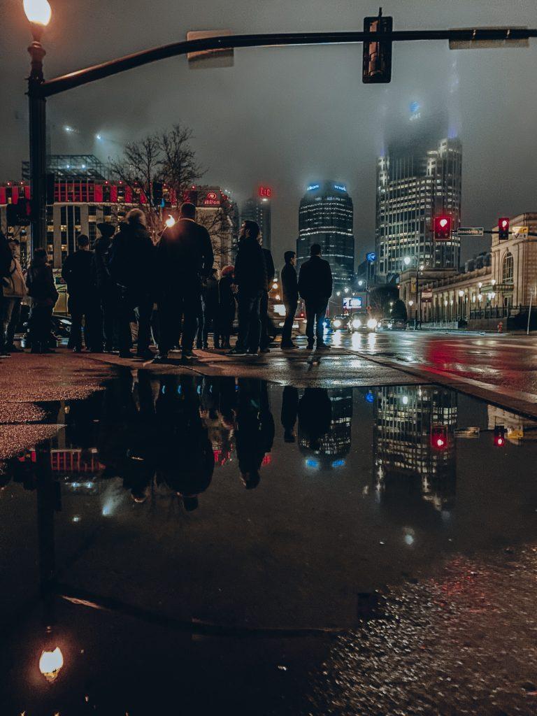 imagem de nashville a noite
