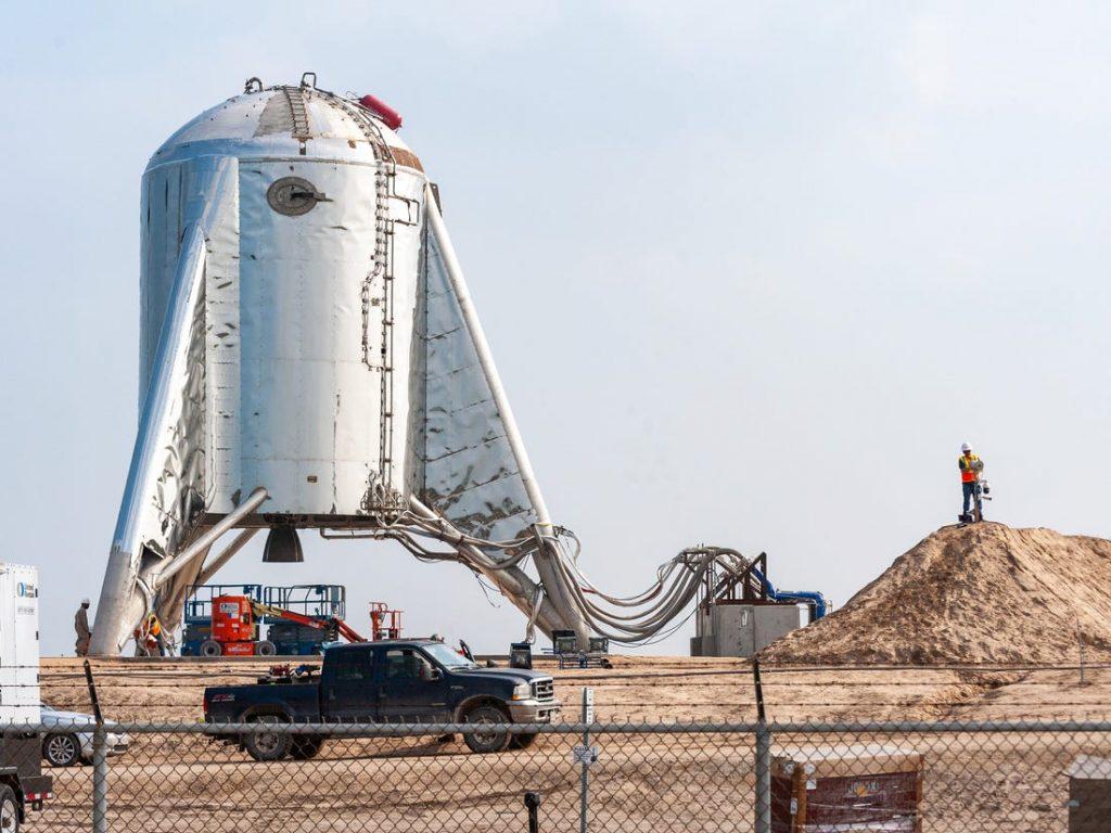 Boca Chica - Local de lançamento dos foguetes que serão direcionados, eventualmente, para Marte. Foto: Business Insider.