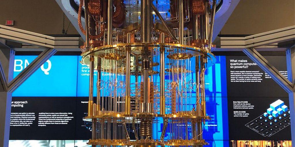 imagem de computadores quânticos