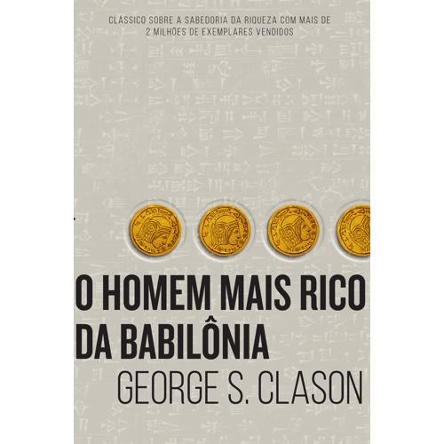 """Livro """"O homem mais rico da Babilônia"""""""