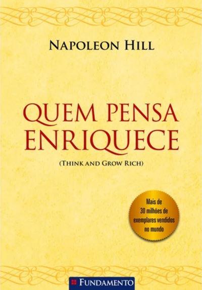 "Livro ""Quem pensa enriquece"""