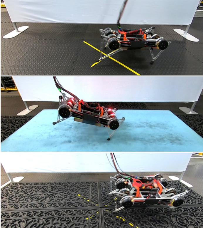robô rainbow dash em movimento