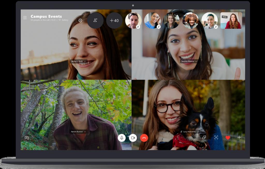 videochamadas via skype