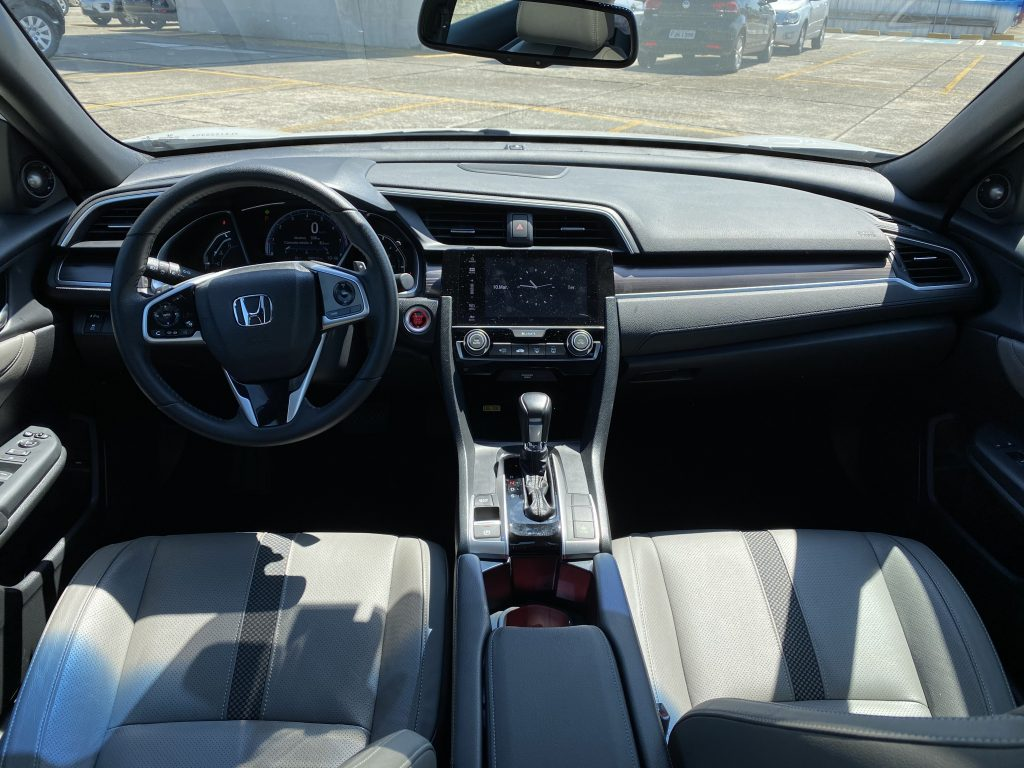 interior honda civic touring 2020
