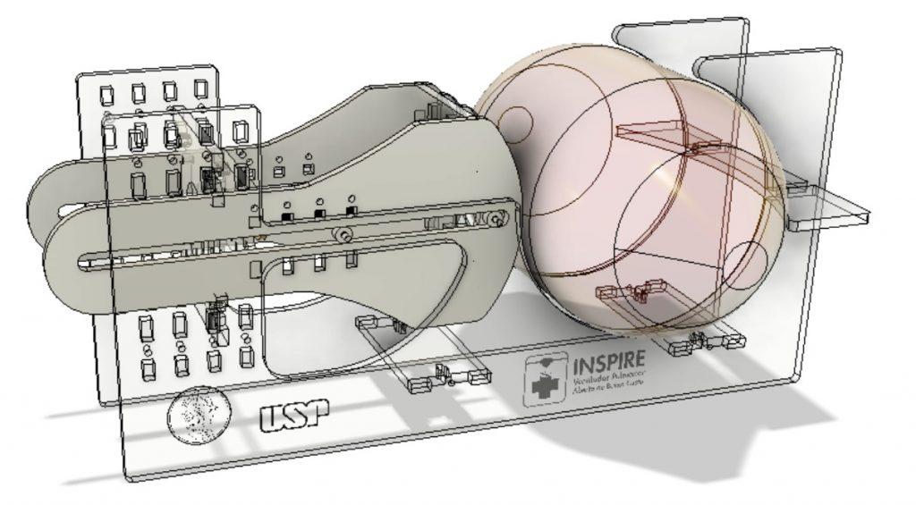 Inspire - Ventilador pulmonar aberto proposto pela Poli-USP.