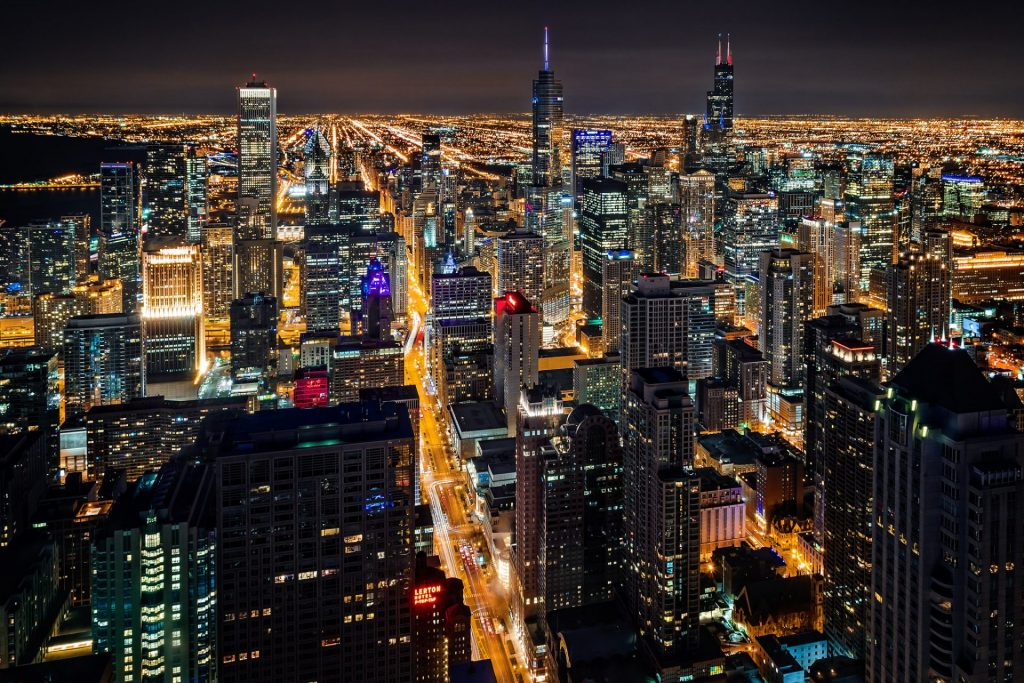 chicago-vista-noturna