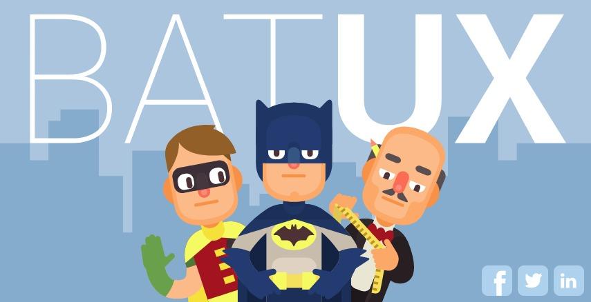 Imagem ilustrativa do mordomo Alfred medindo traje do Batman em arte de desenho.
