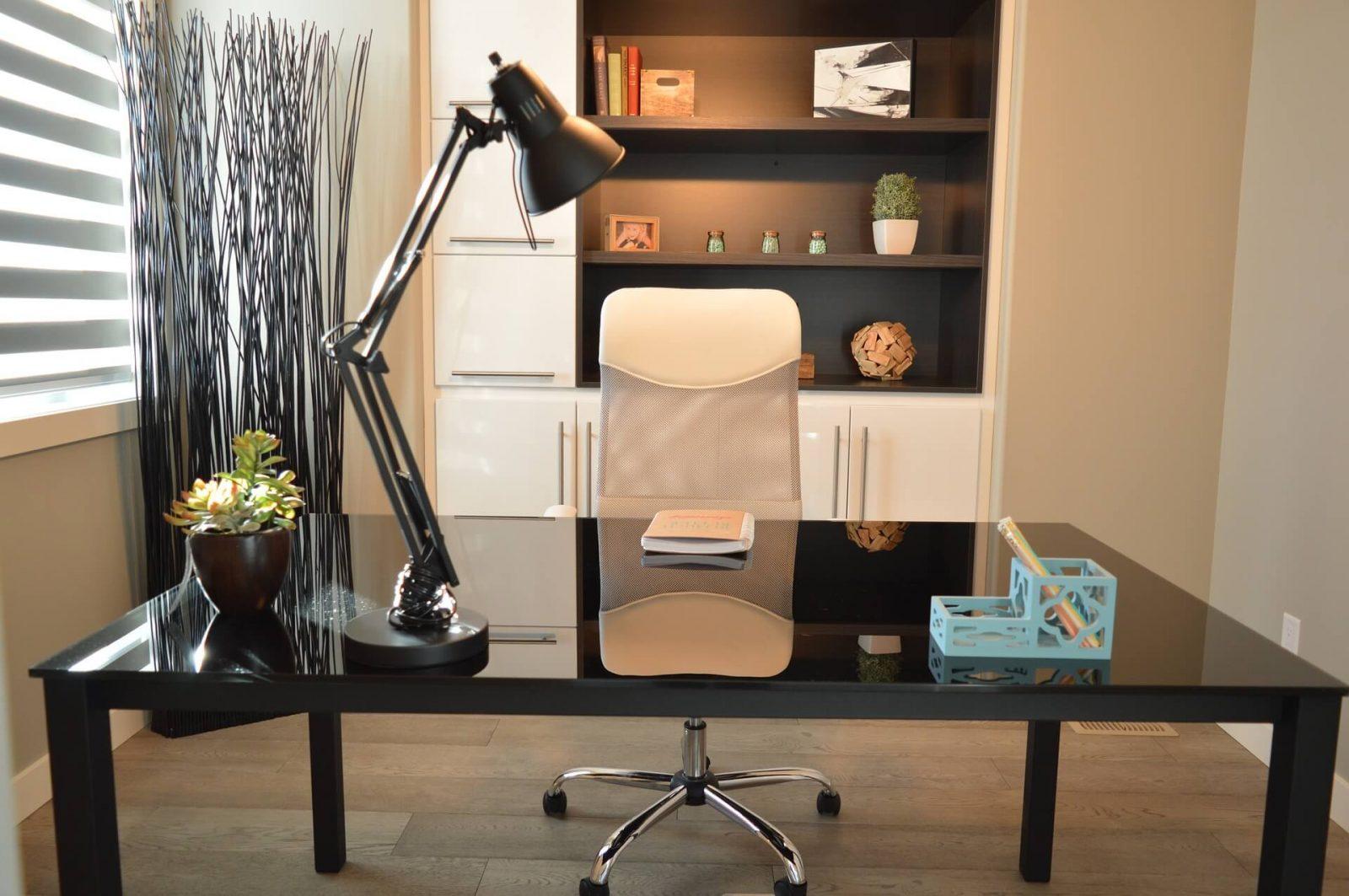 escritório de home office
