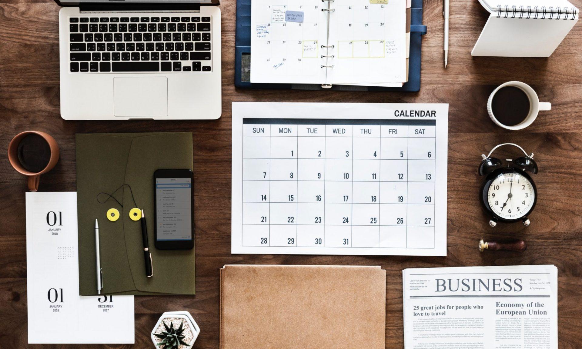 mesa de negócios desktop