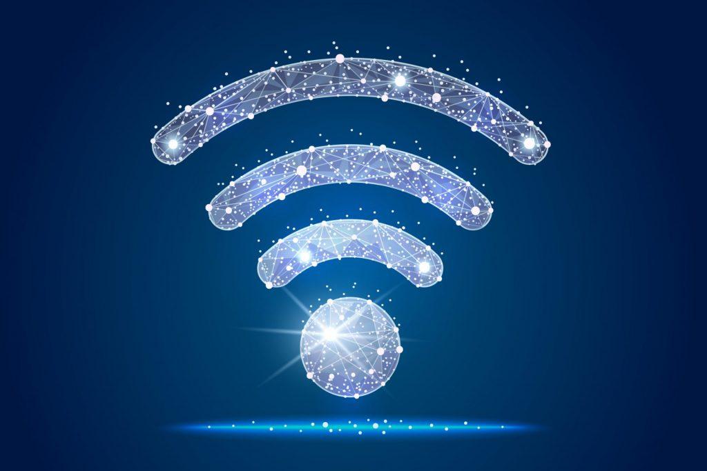 Símbolo da conexão Wi-fi
