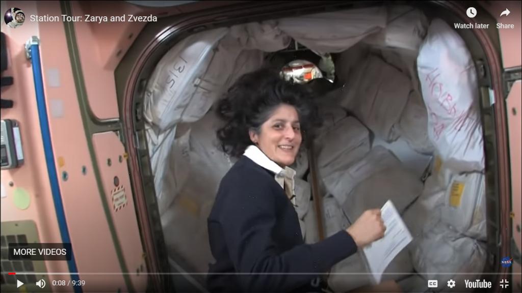 NASA tour da ISS. Imagem: screenshot/redação Engenharia 360.