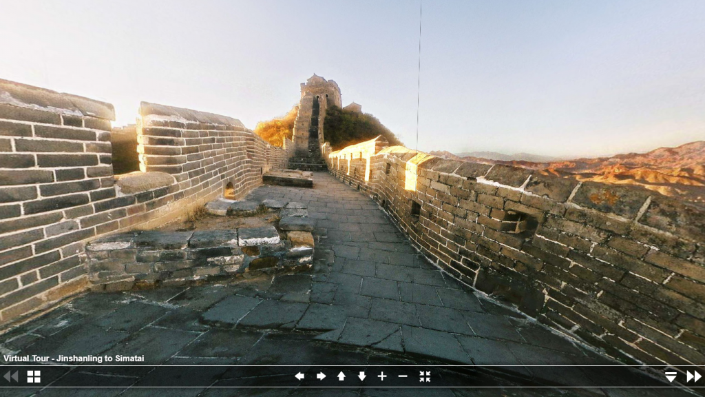 Tour virtual Muralha da China Engenharia 360
