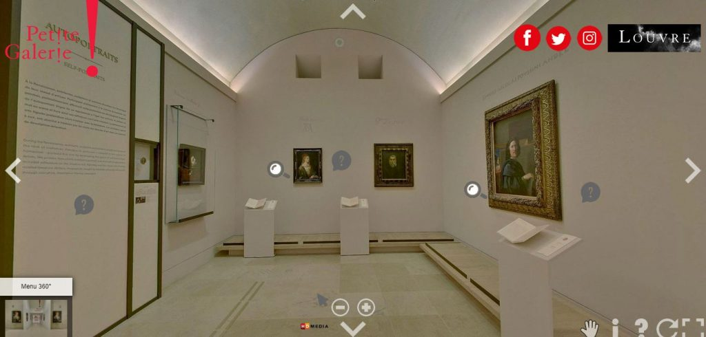 Tour virtual Louvre  Engenharia 360