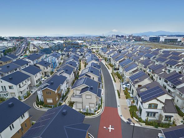 projeto Fujisawa SST casas com painéis solares
