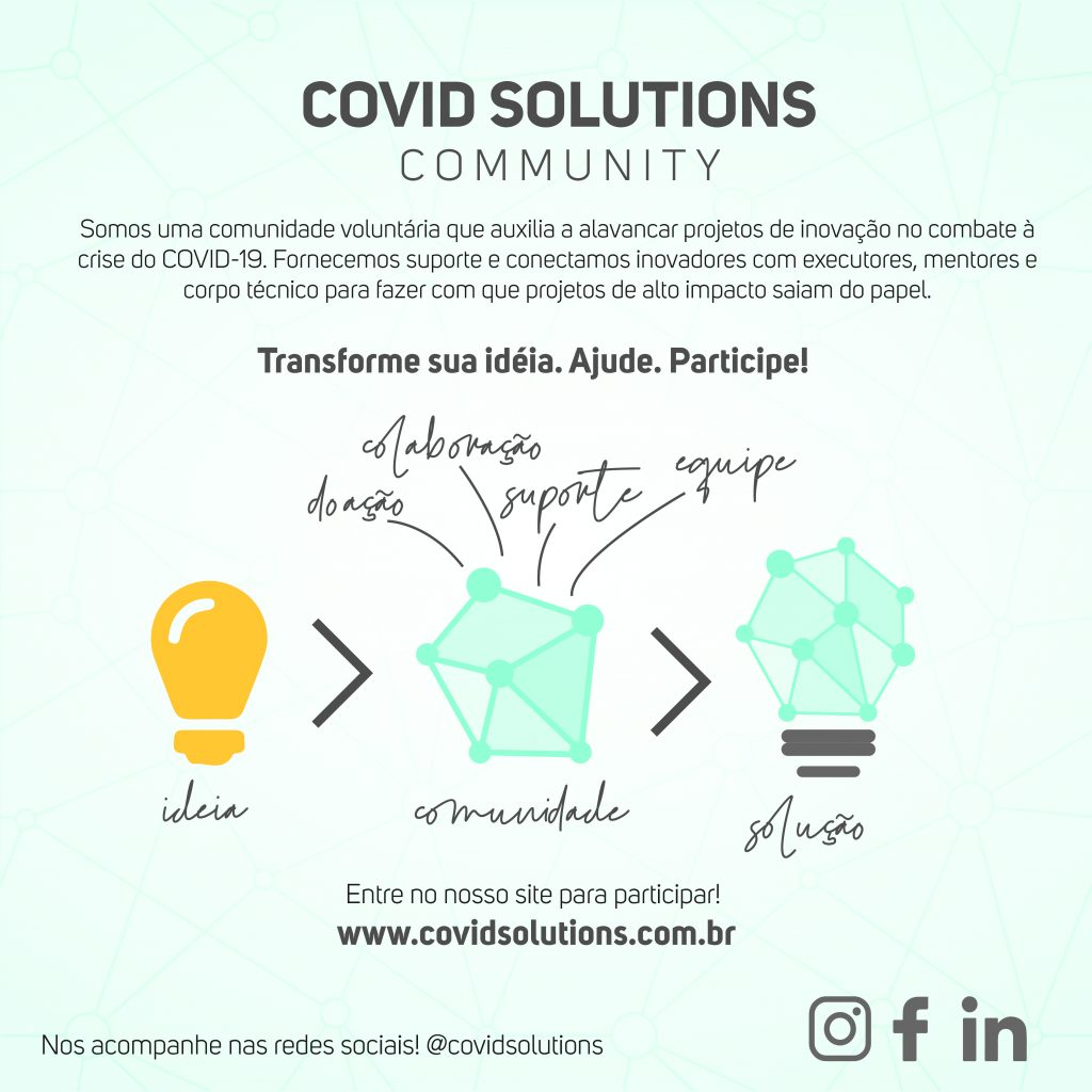 covid solutions community banner