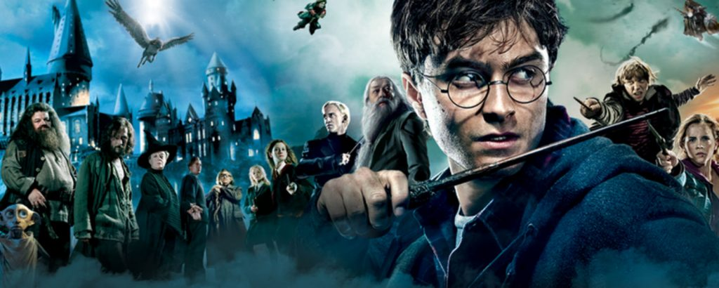 harry potter banner filmes nerds