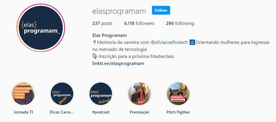 print perfil instagram elasprogramam