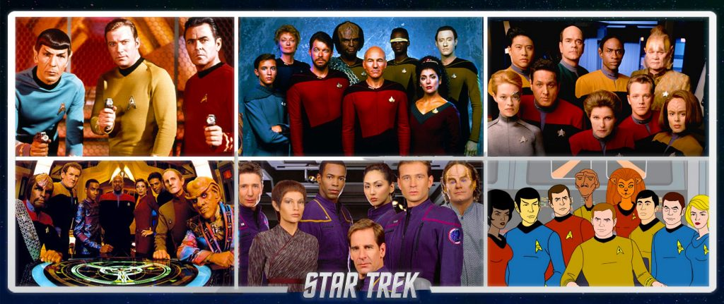 star trek banner filmes e séries