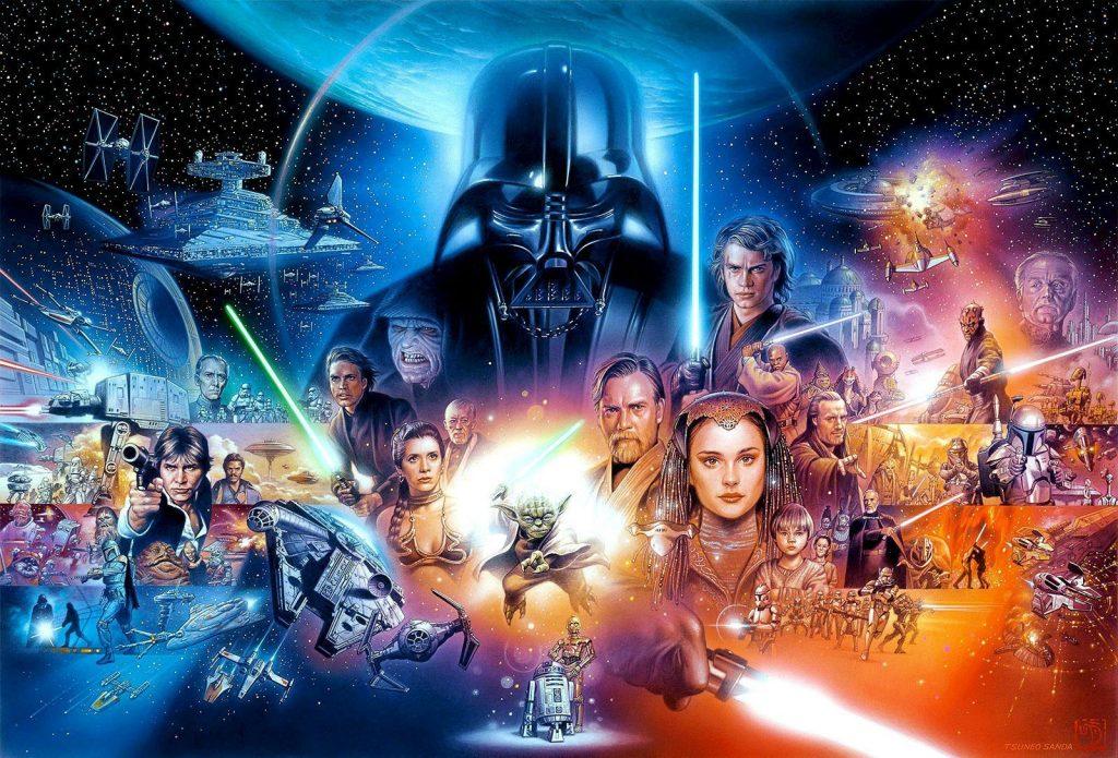 banner filme star wars