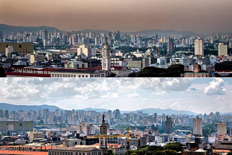 índice de poluição sp Crédito: Ronny Santos / Folhapress