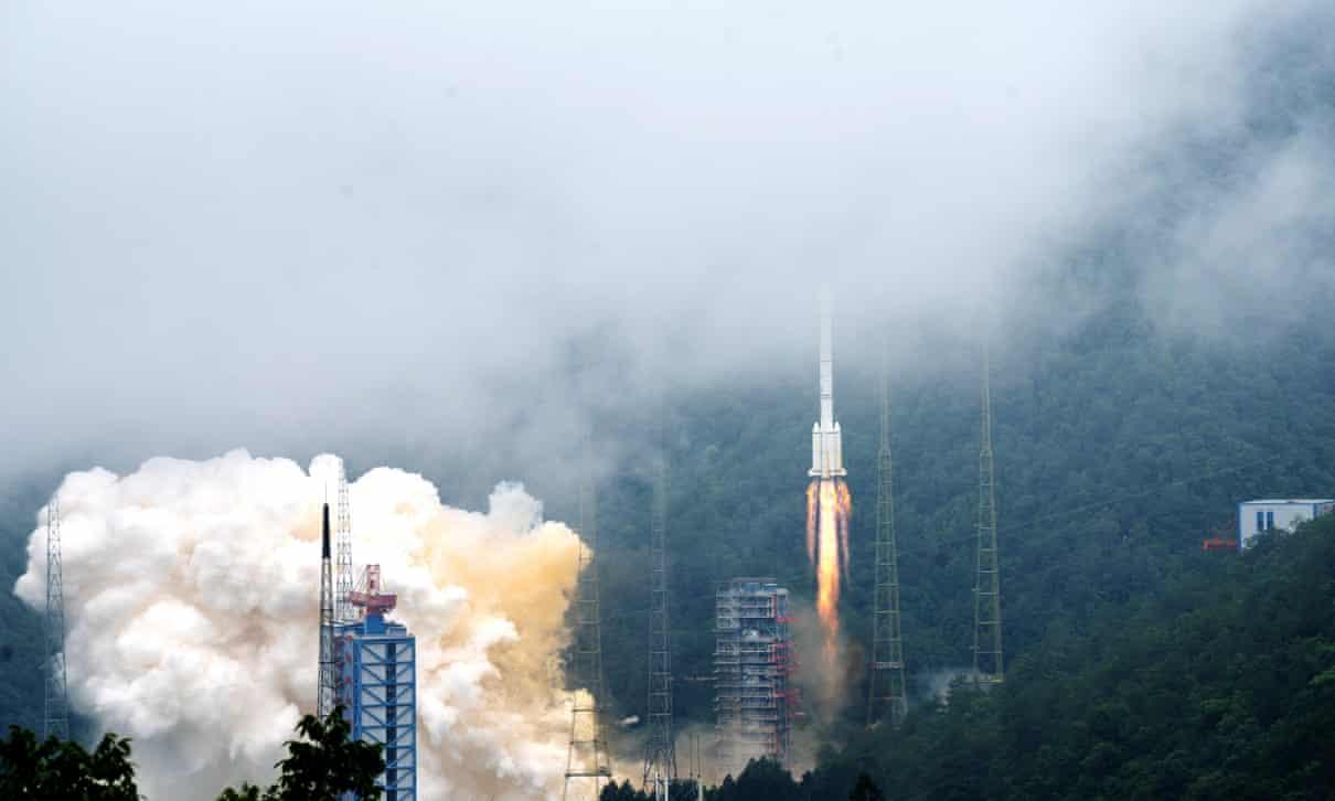 Lançamento do último satélite Beidou