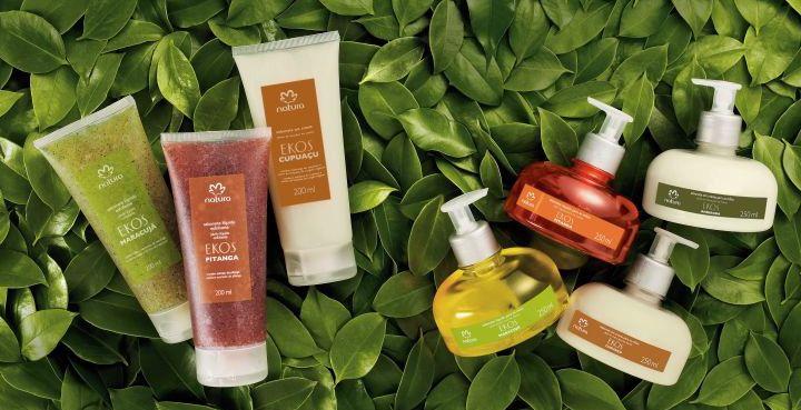 Produtos da Natura são considerados sustentáveis
