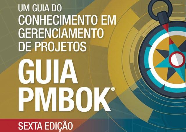Capa do Guia PMBOK, 6ª edição.