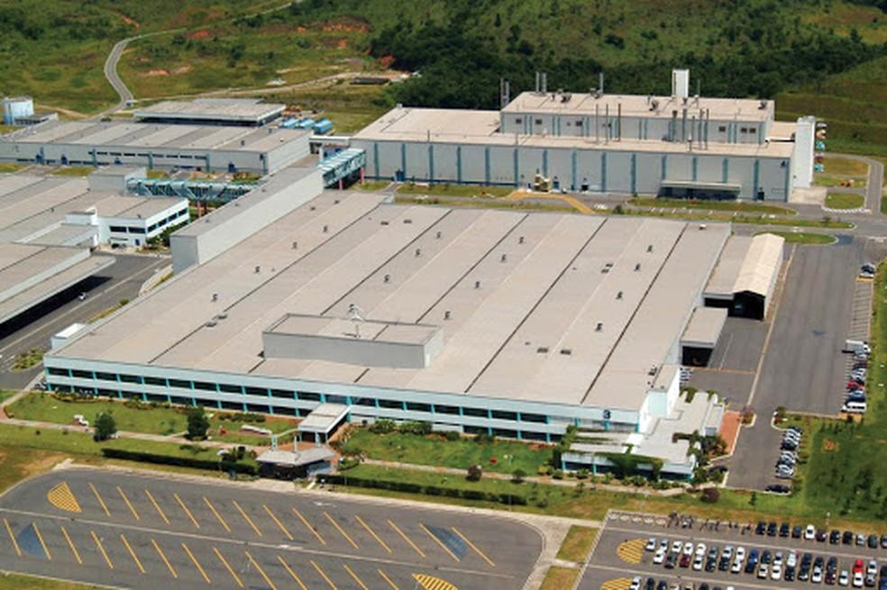 Planta da Mercedes-Benz em Juiz de Fora onde ficará a Oxis Brasil