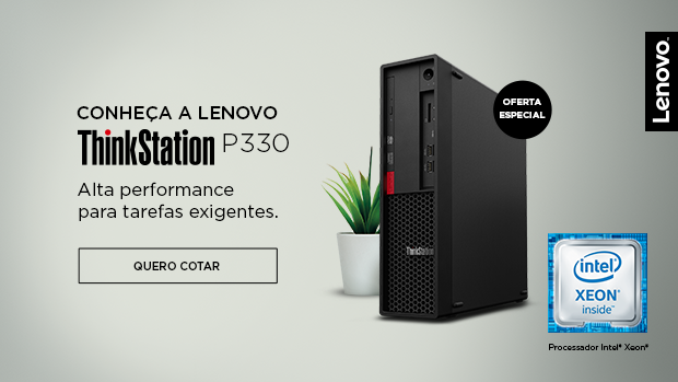 banner thinkstation P330 lenovo workstation