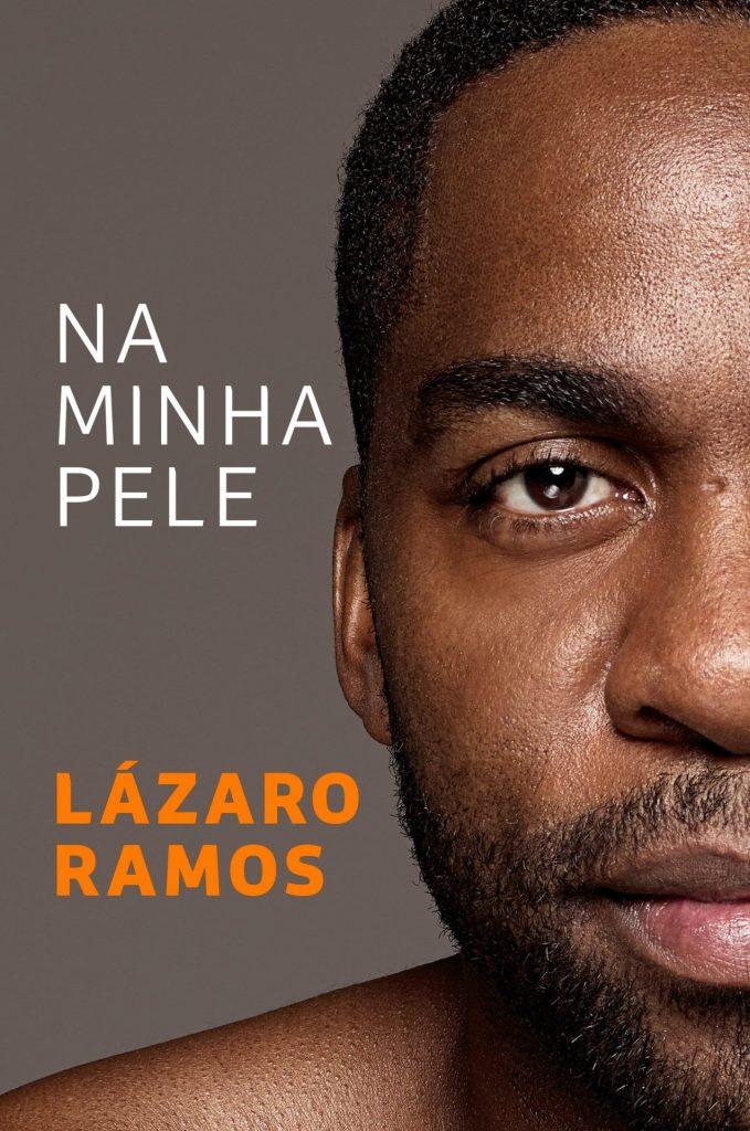 Capa do livro Na Minha Pele, de Lázaro Ramos contra racismo
