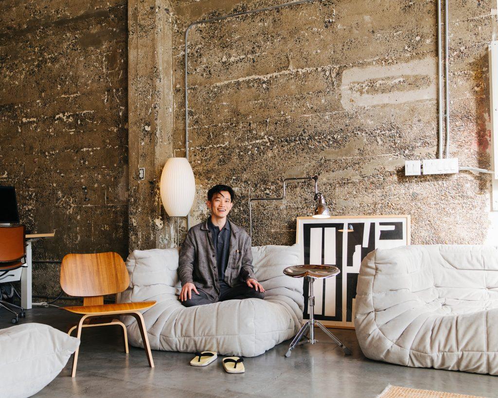 Foto de Ivan Zhao, CEO da Notion Labs, startup norte americanca que atua no setor de produtividade e organização no trabalho.