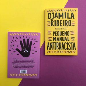 Capa do livro Pequeno Manual Antirrascista, de Djamila Ribeiro