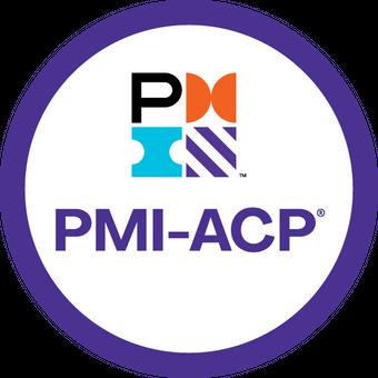 Selo da certificação PMI-ACP