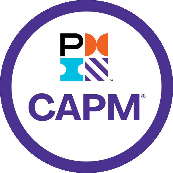 Selo da certificação CAPM