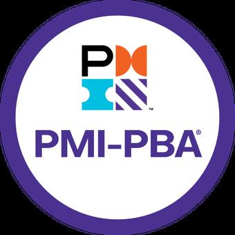 Selo da certificação PMI-PBA
