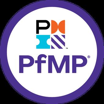 Selo da certificação PfMP