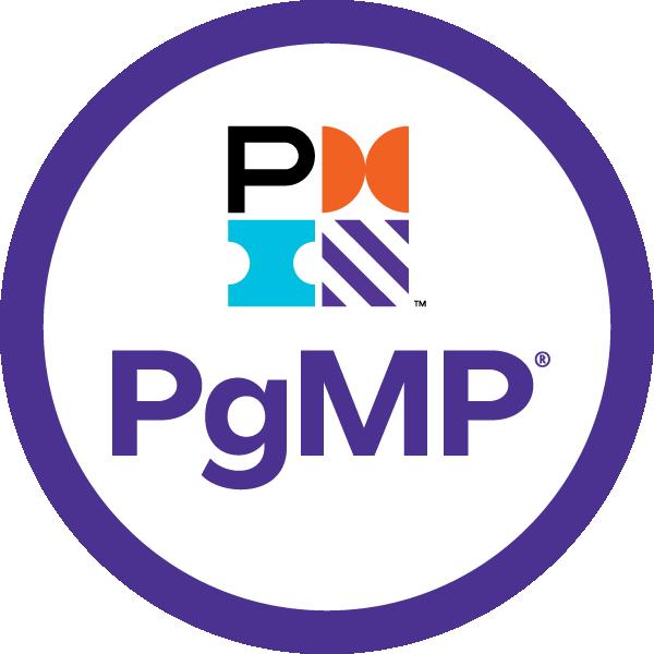 Selo da certificação PgMP