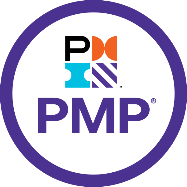Selo da certificação PMP