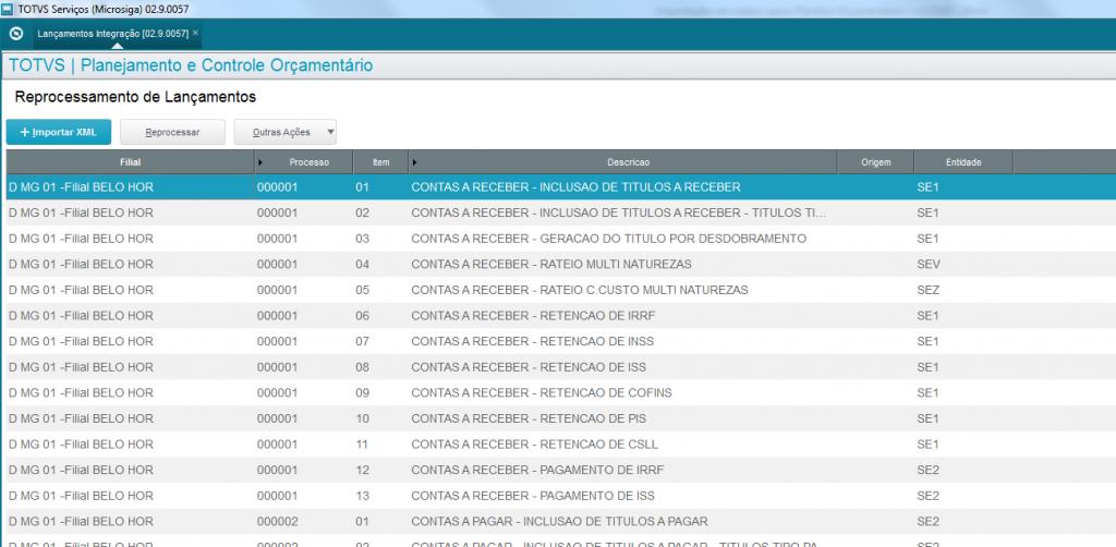 Imagem ilustrativa do sistema ERP TOTVS.
