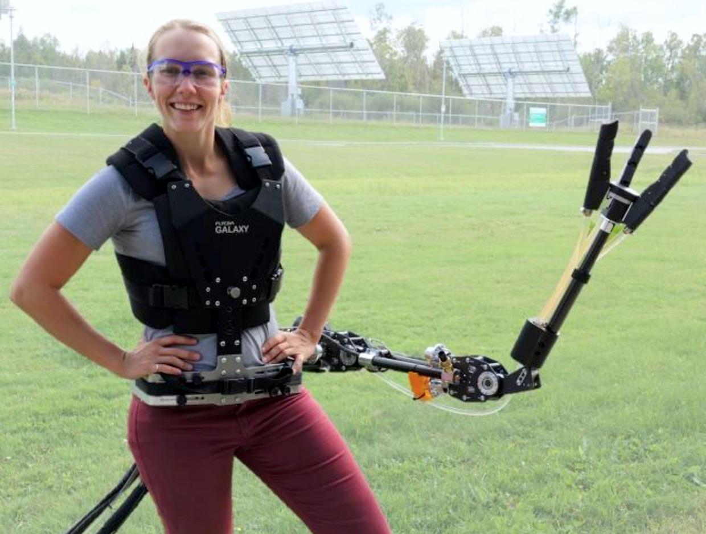 Próximo wearable útil na engenharia pode ser um braço robótico
