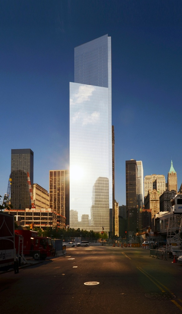 Imagem da área externa do 4WTC