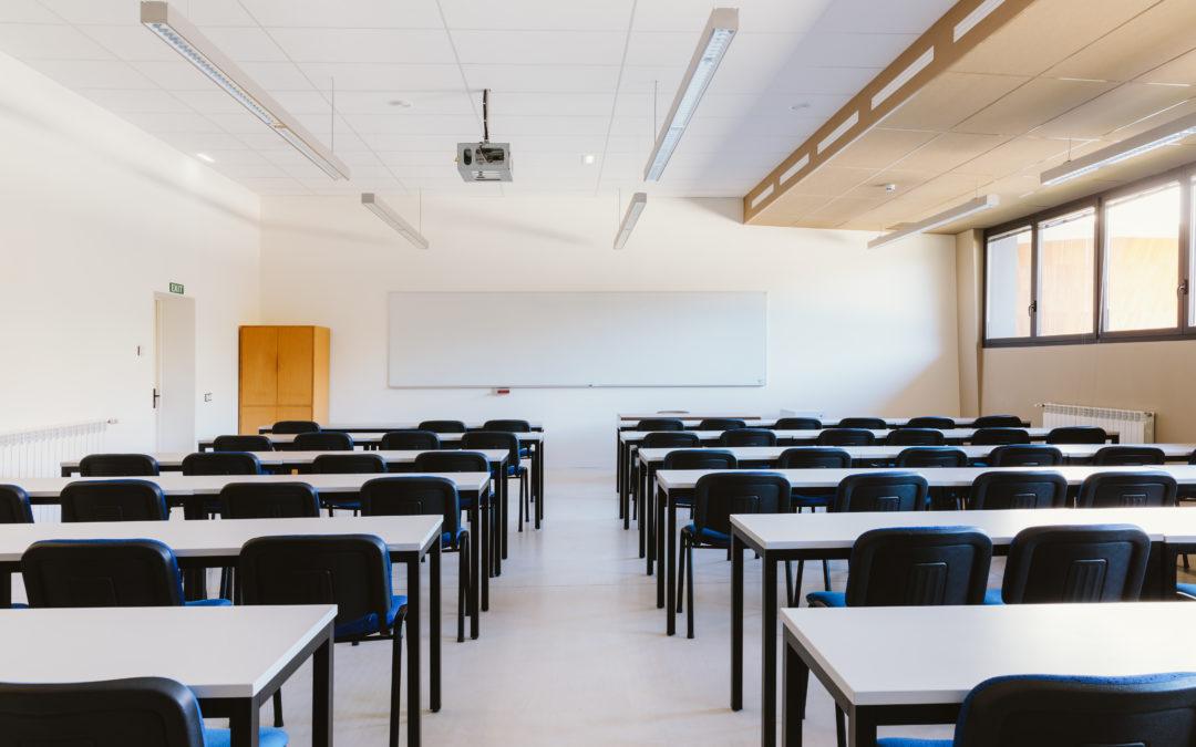 sala de aula, ilustração destacada