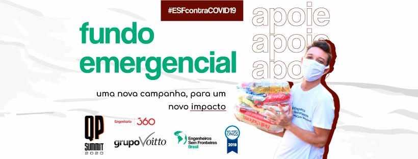 campanha fundo emergencial covid engenheiros sem fronteiras