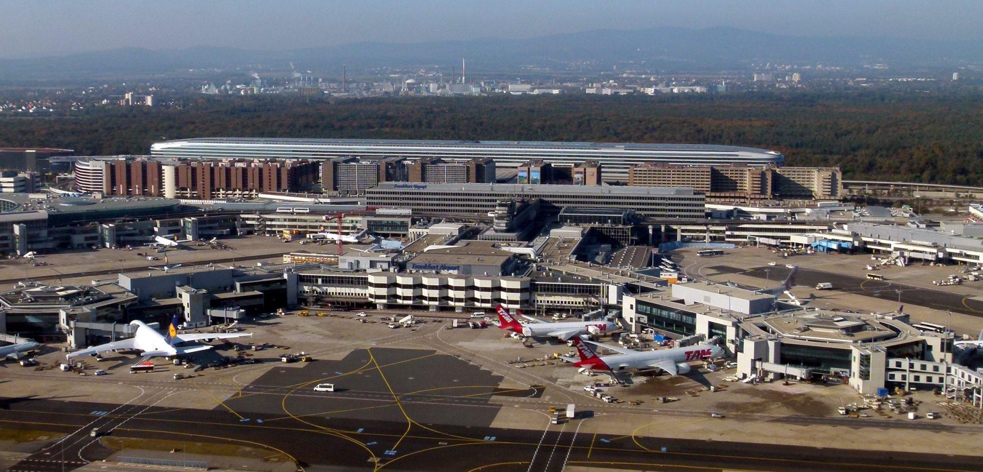 aeroportos incríveis Frankfurt
