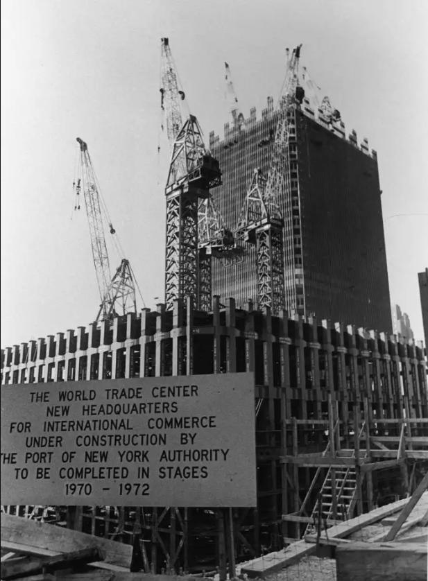 Construção das Torres Gêmeas