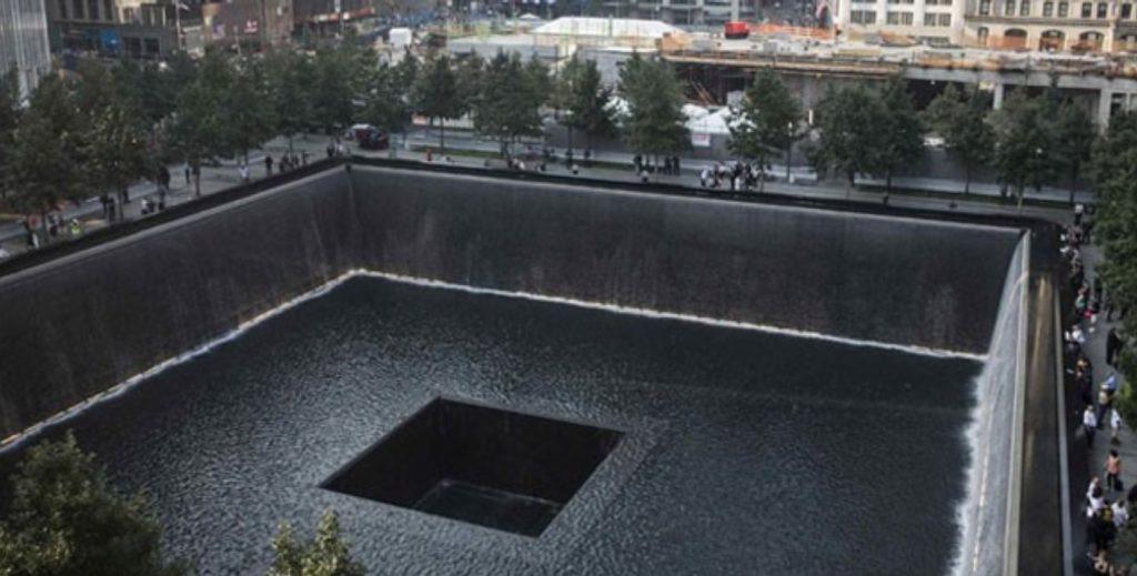 Imagem do memorial em lembrança as vitimas