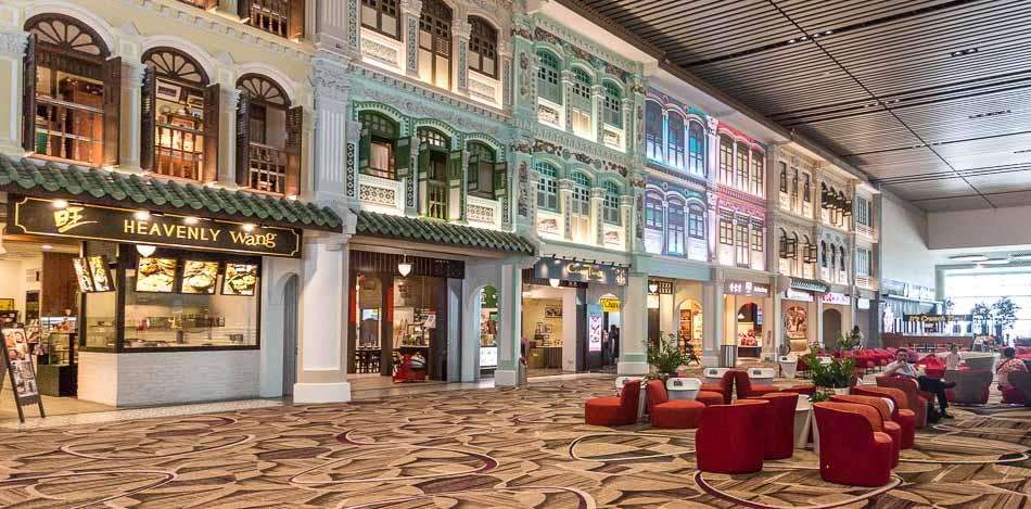 aeroportos incríveis Singapura