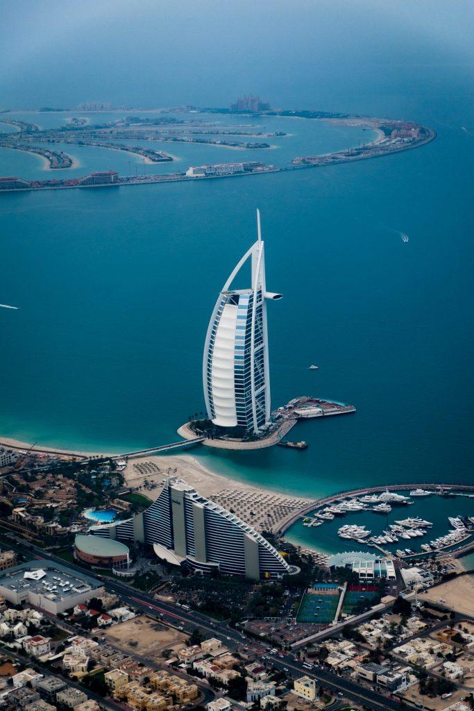 Edifícios complexos de Dubai